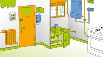 entretenir entree cuisine logement
