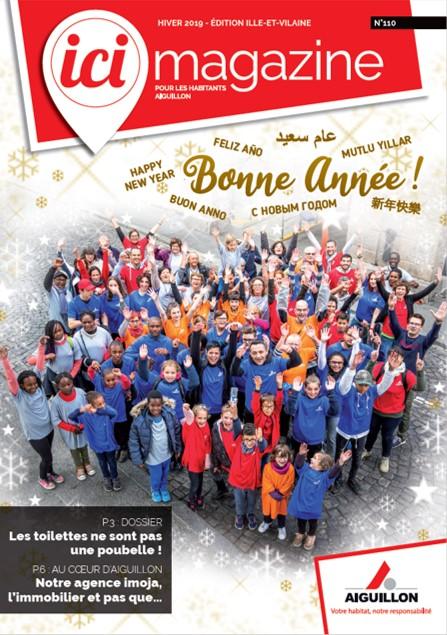 Couverture Ici magazine 110